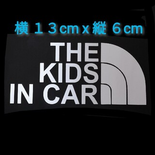 THE KIDS IN CAR 子供 乗ってます キッズ シール ステッカー