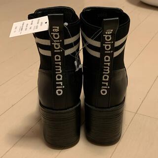 レピピアルマリオ(repipi armario)のレピピ アルマリオ repipi armario ブーツ 黒色 LL(ブーツ)