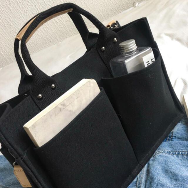 トートバッグ ベジバッグ キャンバス 通勤 ショルダーバッグ マザーズバッグ レディースのバッグ(トートバッグ)の商品写真