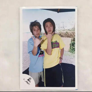 嵐 - 嵐 相葉  二宮  公式写真 Stand up Hawaii  2002年