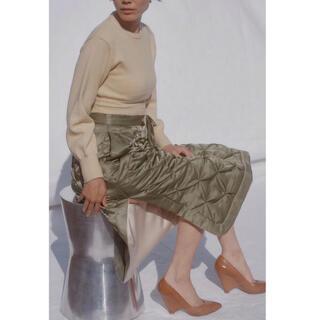 TOMORROWLAND - FUMIKA UCHIDA キルティングスカート