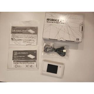 エヌイーシー(NEC)の【WiMAX2+】Speed Wi-Fi  NEXT WX05(PC周辺機器)