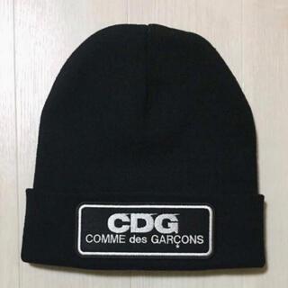 コムデギャルソン(COMME des GARCONS)の新品 送料込 コムデギャルソン ボックスロゴ ニットキャップ ニット帽(ニット帽/ビーニー)