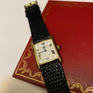 Cartier - カルティエ マストタンク ホワイト LM Cartier