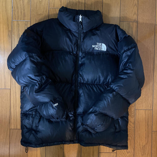 THE NORTH FACE - ノースフェイス ヌプシ フィル700  ブラック ダウンジャケット Lサイズ