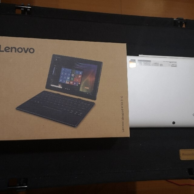 Lenovo(レノボ)のLenovo miix 310 Windows10 タブレット PC スマホ/家電/カメラのPC/タブレット(ノートPC)の商品写真