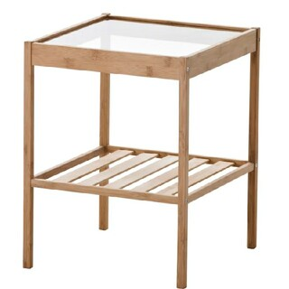 イケア(IKEA)の【送料込み】IKEA(イケア  )ベッドサイドテーブル NESNA ネスナ(コーヒーテーブル/サイドテーブル)