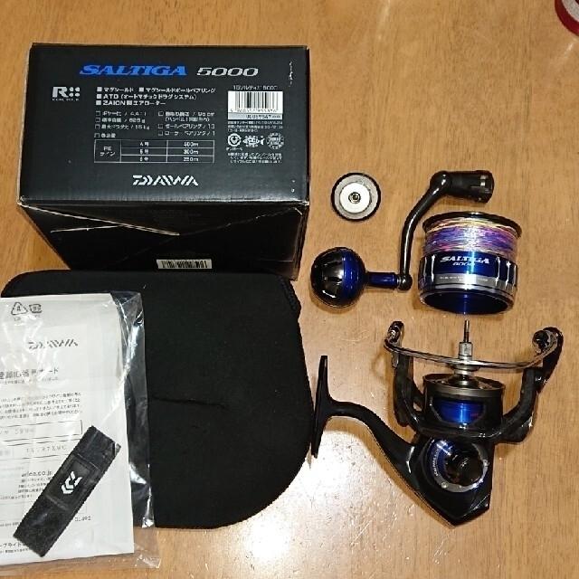 DAIWA(ダイワ)の15 ソルティガ 5000 (peラインは無し) スポーツ/アウトドアのフィッシング(リール)の商品写真