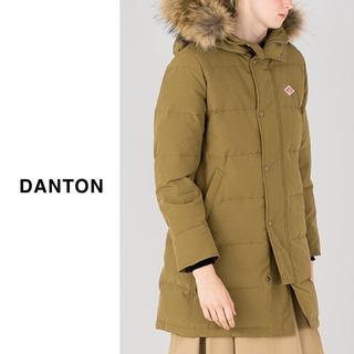 DANTON - DANTON(ダントン)| タッサーファー付きフードダウンコート