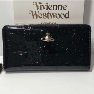 Vivienne Westwood - ☆新品未使用☆ヴィヴィアンウエストウッド長財布Vivienne ブラック 綺麗