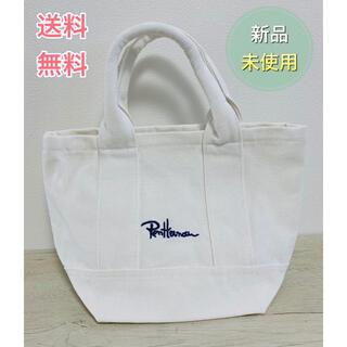 【限定SALE】 ロンハーマン ミニトートバッグ ホワイト 男女兼用