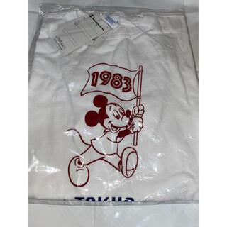 Disney - ディズニー チャンピオン champion  tシャツ ホワイト Mサイズ
