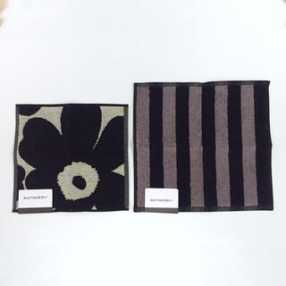 marimekko - 新品✨マリメッコ タオルハンカチ ハンドタオル 2枚セット