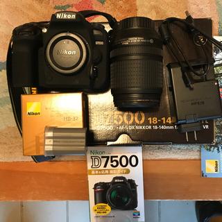Nikon - NIKON D7500 完備品