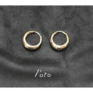 LOLO - l'oro ロロ フープ ピアス