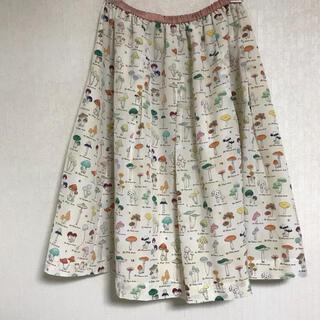 franche lippee - フランシュリッペ  きのこ図鑑 スカート