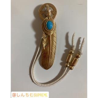 goro's - tady&king 全金ターコイズ特大フェザー 単品