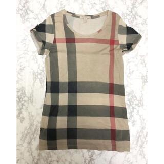 BURBERRY - 正規品 バーバリー 定番チェックTシャツ
