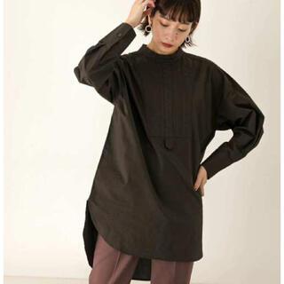 KBF - キルティングデザインドレスシャツ