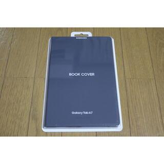 Galaxy - 新品 Galaxy Tab A7 純正 カバー(グレー)