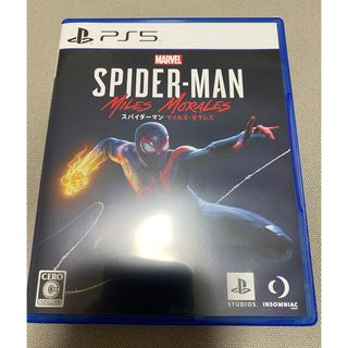 PlayStation - 【コード未使用】スパイダーマン マイルズモラレス ps5