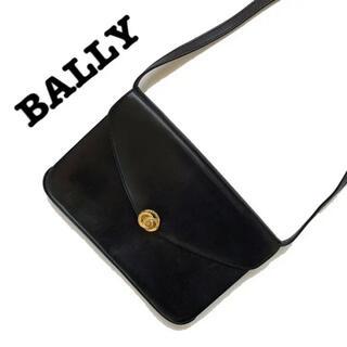 Bally - bally バリー レア品 ショルダーバッグ 本革 レザー 斜め掛け ブラック