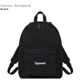 Supreme - Supreme Canvas Backpack
