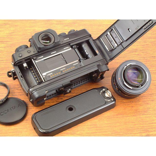京セラ(キョウセラ)のCONTAX RTSⅢ + Planar 50mm F1.4  T* AEJ スマホ/家電/カメラのカメラ(フィルムカメラ)の商品写真