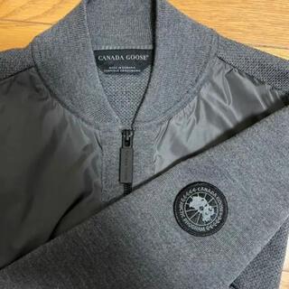 カナダグース(CANADA GOOSE)のカナダグース ウインドブリッジ フルジップセーター グレー Lサイズ 完売品(ニット/セーター)