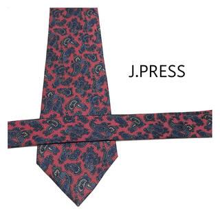 ジェイプレス(J.PRESS)のほぼ未使用品✨J.PRESS ペイズリー ネクタイ 1-JP8(ネクタイ)