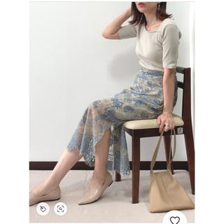 dholic - ロングレーススカート