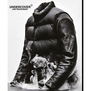 アンダーカバー(UNDERCOVER)の1 undercover 30th 袖レザー ダウンジャケット 新品 アンカバ(ダウンジャケット)