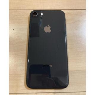 アップル(Apple)の美品 iPhone8 Space Gray 256GB SIMフリー  (スマートフォン本体)