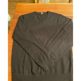 UNIQLO - ユニクロ カシミヤ Vネックセーター
