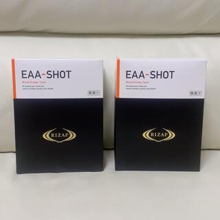 アジノモト(味の素)のRIZAP EAA-SHOT オレンジ味 アミノ酸 ライザップ 新品未使用(アミノ酸)