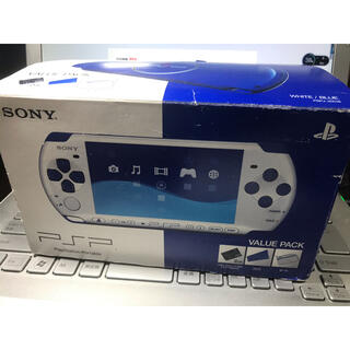 SONY - 未使用に近い極美品送料込限定色PSP 3000+2gbカード箱付き
