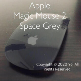 Apple - Apple Magic Mouse 2 Space Grey スペースグレー