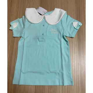 Shirley Temple - シャーリーテンプルネコ耳セーラーTシャツ130