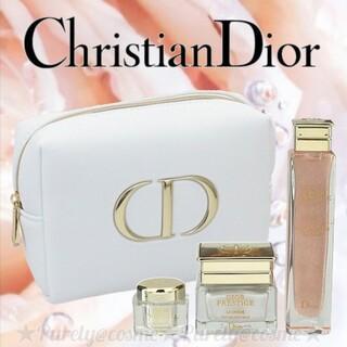 Dior - 【Dior】 ディオール プレステージ 限定コフレ トライアルセット ポーチ付き