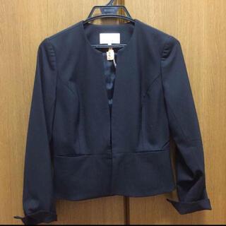 M-premier - エムプルミエ 一回着用 ノーカラージャケット