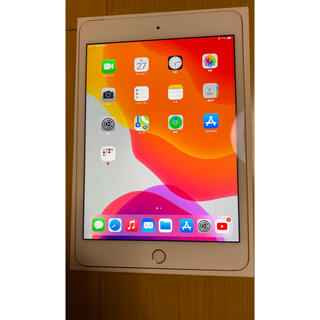 Apple - iPad mini4 128gb cellular +純正のケース付き