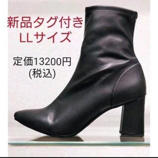 ESPERANZA - 【新品タグ付き】エンプント ストレッチチャンキーヒールブーツ LLサイズ