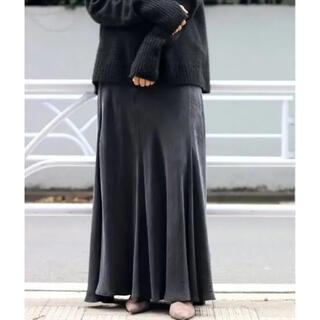 Plage - Fibril ギャザーロングスカート  36