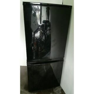 SHARP - シャープ 2ドア冷凍冷蔵庫 SJ-D14B-B ブラック 2016年製 配送無料