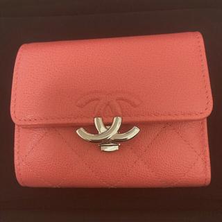 CHANEL - 可愛いゴージャス シャネル CHANEL 折りたたみ財布 ミニ財布