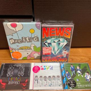 ニュース(NEWS)のNEWS CD DVDセット(ポップス/ロック(邦楽))