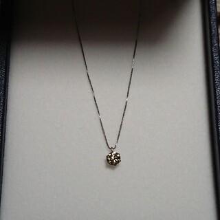 プラチナpt850ダイヤモンド0.341ctネックレス