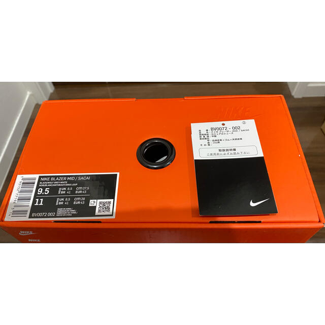 NIKE(ナイキ)のsacai NIKE BLAZERMID ナイキ x サカイ ブレーザ MID メンズの靴/シューズ(スニーカー)の商品写真