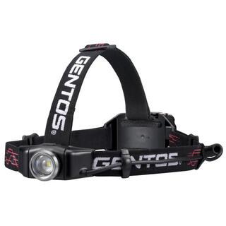 ジェントス(GENTOS)のGENTOS(ジェントス)LEDヘッドライトUSB充電式 GH-001RG(ライト/ランタン)