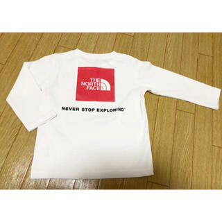 THE NORTH FACE - THE NORTH FACE ノースフェイス キッズ ロンT Tシャツ 100
